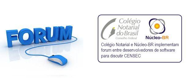 CENSEC: parceria Núcleo-BR e Colégio Notarial em atividade